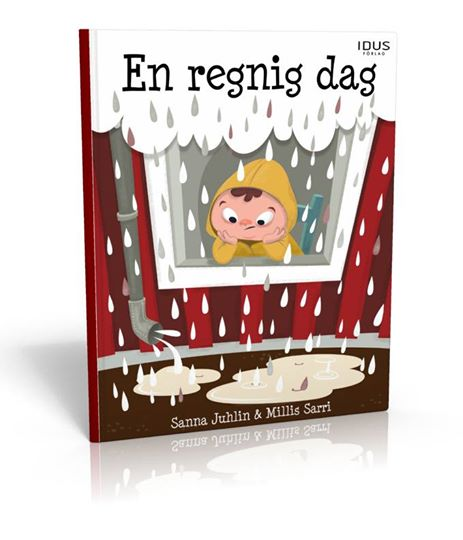 en regnig dag
